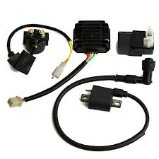 ignition coil cdi regulator rectifier relay kit for 250 chinese atv other engines engine parts