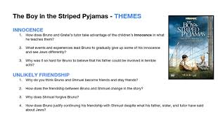themes the boy in the striped pyjamas discussion google docs