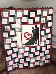 Wedding Quilt Patchwork Monogram Name Quilt- Custom Made- Perfect ... & You have to see From This Moment-Guest Book Quilt by juned1125! Adamdwight.com