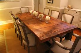 Reclaimed Dining Room Table Gorgeous Dining Room Design With - Dining room tables reclaimed wood