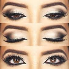 cat eye makeup is perfect for hooded eyes and here is why blending the shadow a bit outwards makes your eyes appear longer and lifts them up