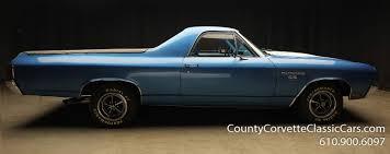 1970 Chevrolet El Camino SS — County Corvette Classic Cars