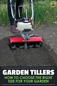 nothing is as satisfying as a freshly tilled garden unless you don t