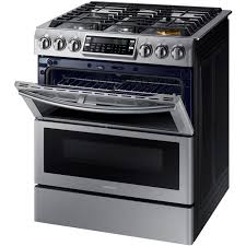L SlideIn Double Oven Gas Range With SelfCleaning Convection