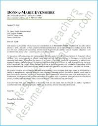 Incredible Elementary Teacher Cover Letter Which Can Be Used