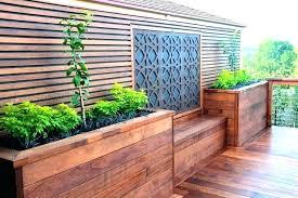 deck planters planter boxes bench plans build five seats and box with seat p built