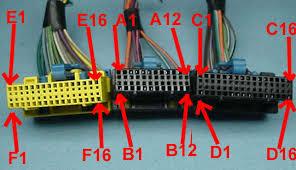 ecm pinouts 1990 92 speed density f body ecm 1227730 camaro firebird