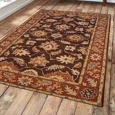 rust area rug grand vintage hand tufted wool brown rust area rug rug size rust wool rust area rug