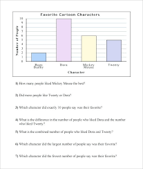 Bar Graph Template Excel Favorite Cartoon Bar Graph Worksheet ...
