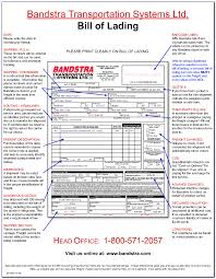 Blank Bill Of Lading Forms Label And Form Transactions Global Fedex Freight Blank Bill