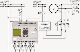electrical engineering world wiring diagram of a plc controlled AC Wiring Diagram Single Phase Motor to Control 3 wiring diagram of a plc controlled system for drying of high voltage induction motors