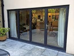 ilkley bi fold patio door installation by marlin windows