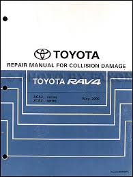 2001 toyota rav4 wiring diagram manual original 2001 2005 toyota rav4 body collision repair shop manual original