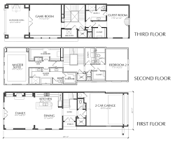 Dallas Townhouse Floor Plans For Sale  Apartments  Pinterest Three Story Floor Plans