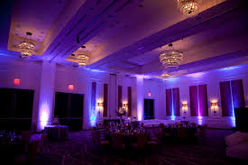 Lighting Makes A Huge Impact On Your Venue Hutton Hotel Purple Lighting For Wedding