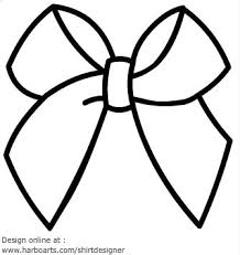Small Picture Cheer Bow Coloring Pages To Print Coloring Coloring Pages