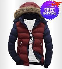 korean design men long sleeve hooded winter jacket coat