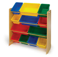 ... Colorful Plastic Storage Containers Keep Toys Colorful Primary Color  Bins Full Size