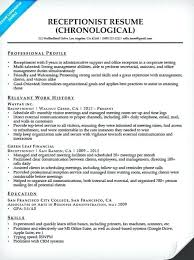 Receptionist Resume Examples Classy Corporate Receptionist Resume Examples As Well As Similar Resumes