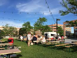 photo of the beer garden at shippan landing stamford ct united states