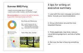 executive summery four tips for writing an executive summary that will actually get