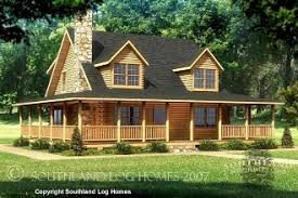 Small Picture WrapAroundPorchFloorPlans Log Home Floor Plans Southland
