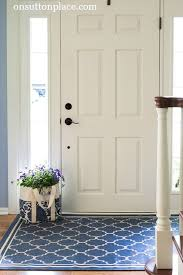 Shows you easy, DIY ways to refresh a small entry. Don't let