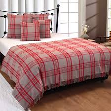 cotton extra large tartan throws for sofas bed