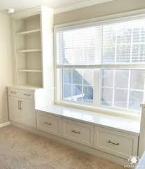 killer home office built cabinet ideas. One Room Challenge Home Office Makeover - Built-in Cabinets Flanking Center Window With Killer Built Cabinet Ideas S