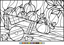Let us know which of these free pumpkin coloring pages printable is your child's favorite. Pumpkins Color By Number Coloring Page Free Printable Coloring Pages For Kids