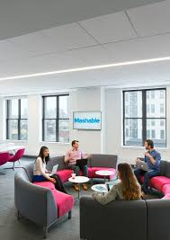 chelsea office space lounge. mashable new york city office offices of online media company located in chelsea space lounge p