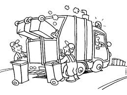 Small Picture Garbage Truck Daily Activity Coloring Pages Download Print