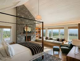 Other Farmhouse Canopy Bed Bedroom with room a view and rooms ...