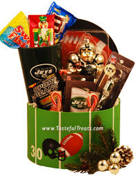 score a touchdown with this new york jets gift basket