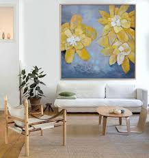 hand made abstract art acrylic painting large canvas art living room wall art