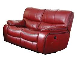 red loveseat red recliner red leather loveseat sleeper