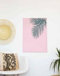diy palm canvas art on wall art canvas diy with palm leaf wall art martha stewart