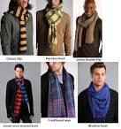 Men scarves how to wear