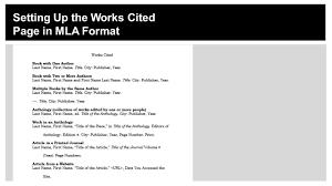 Mla Essay Citation Works Cited Homework Academic Writing Service