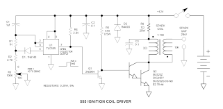 555 ignition coil driver circuit 555 ignition coil driver schematic