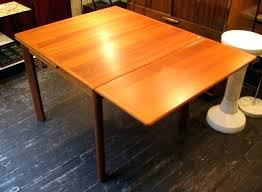 square teak draw leaf dining table sold white trash intended for with design 8 w square dining tables with leaf