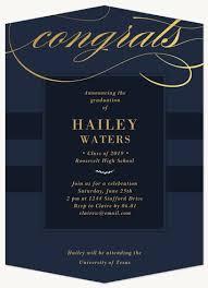 Elegant Graduation Announcements Elegant Congrats