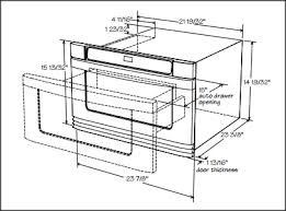 Key Installation Dimensions Of A 24inch Microwave Drawer Under Cabinet Microwave Dimensions32