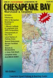 Chesapeake Bay Chart Book Gmco Chartbook Chesapeake Waterproof 8th Ed