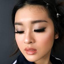 strobing asian makeup artist in sydney