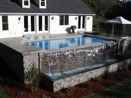 vanishing edge lake s swimming pool