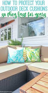 how to protect outdoor furniture. How To Protect Your Outdoor Deck Cushions So They Last For Years Furniture E