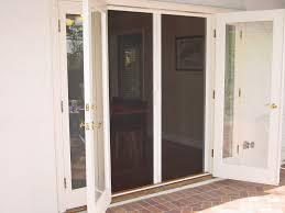 decoration rollaway screen door for glass door with door mat also