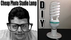 cheap home lighting. How To Make Studio Lights At Home For Cheap Improve Your YouTube Videos! DIY - Lighting H