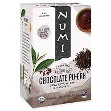 Numi <b>Organic Tea Chocolate Pu</b>-<b>erh</b>, 16 Bags, Black <b>Pu</b>-<b>erh Tea</b> in ...